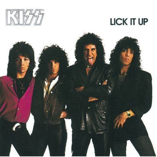 KISS lick it up CD cover