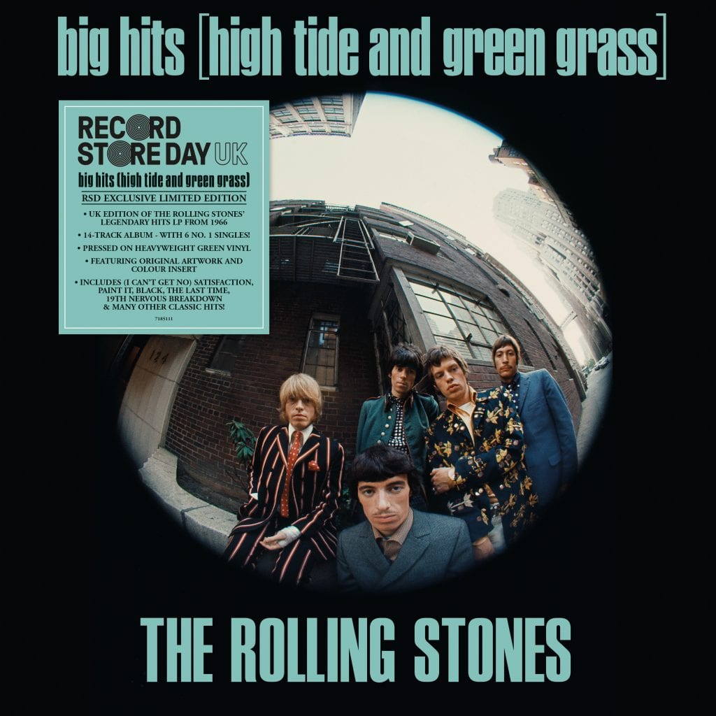 ROLLING STONES High Tide Green Grass (Big Hits Vol 1)